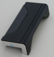 Plint 3D aftakstuk zwart