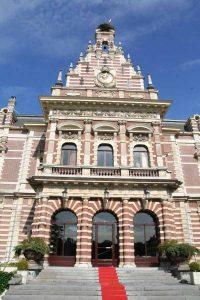 Het entree van Kasteel Oud Wassenaar