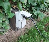 Waterdicht bovengronds stopcontact