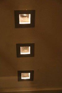 inbouw wandlampen