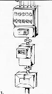 meterkast tekening