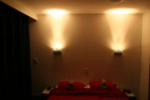 Indirecte verlichting Leesverlichting in de slaapkamer