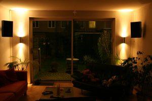 Indirecte verlichting Up down licht, feitelijk wandverlichting