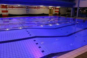Led verlichting zwembad