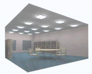 ichtadvies enkel plafond TL armaturen