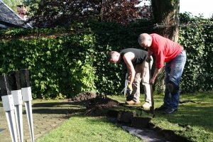 Tuinverlichting Eindhoven aanleg
