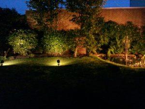 Tuinverlichting Eindhoven in het donker