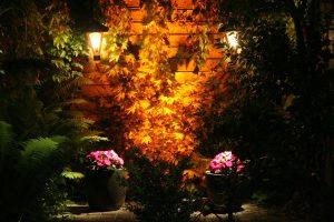 Tuinverlichting bloempotten