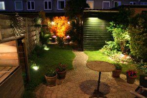 Tuinverlichting bloempotten met spots
