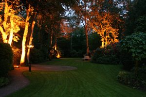Tuinverlichting diepe tuin lantaarn