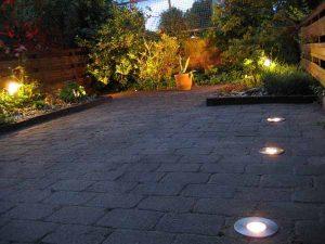 Tuinverlichting tuin Den Haag grondspots