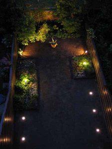 Tuinverlichting tuin Den Haag