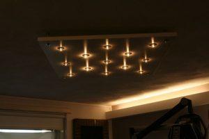 Klein sterrenhemel plafond