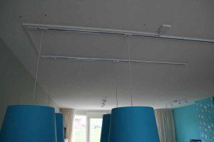 ophangen lampen bevestiging plafond