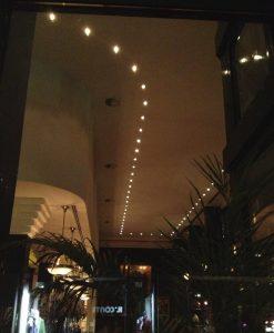 plafond met halogeen
