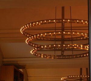 ring van kleine lampjes